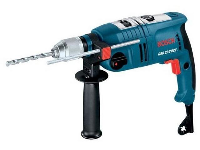 Wiertarka udarowa sieciowa GSB 22-2 RCE 1200W SUW z walizką 601146761 Bosch