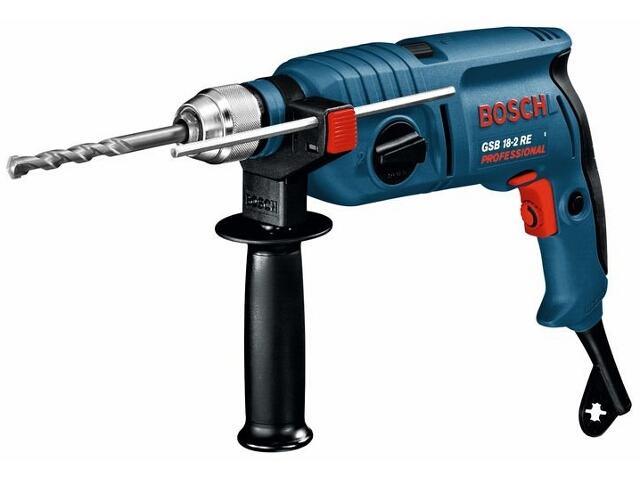 Wiertarka udarowa sieciowa GSB 18-2 RE 750W ZUW z walizką 60117A664 Bosch