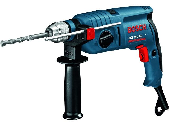 Wiertarka udarowa sieciowa GSB 18-2 RE 750W SUW z walizką 60117A764 Bosch