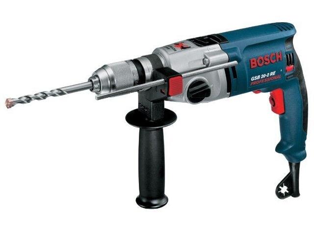 Wiertarka udarowa sieciowa GSB 20-2 RE 800W SUW z walizką 60119B564 Bosch