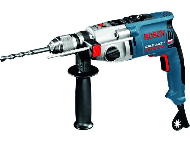 Wiertarka udarowa sieciowa GSB 20-2 RCE 1010W SUW z walizką 60119B764 Bosch