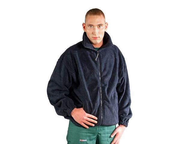 Bluza robocza z polaru POLAR G roz. M granatowy REIS