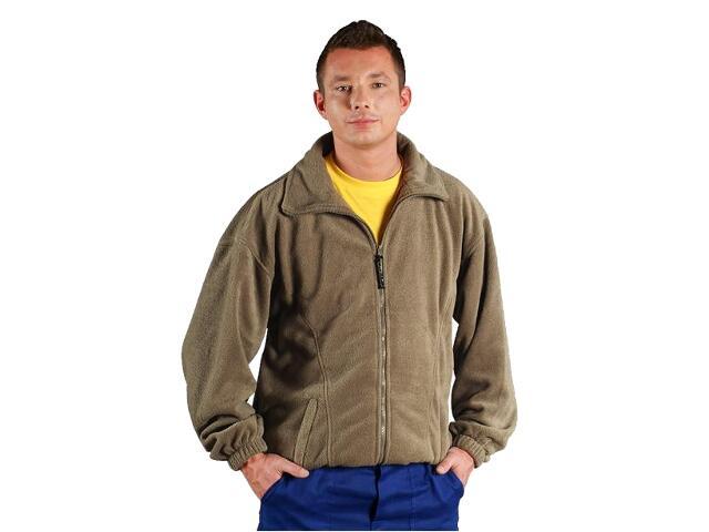 Bluza robocza z polaru POLAR BE roz. L beżowy REIS