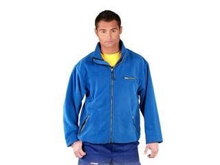 Bluza robocza z polaru POLAR-HONEY N roz. L niebieski REIS
