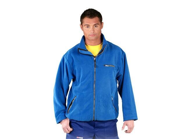 Bluza robocza z polaru POLAR-HONEY N roz. M niebieski REIS