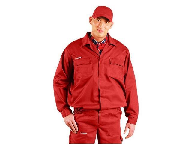 Bluza robocza MASTER BM C rozm. XXXL czerwony REIS