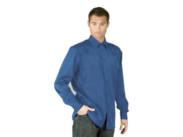 Koszula robocza KWSDR N rozm. XL niebieski REIS