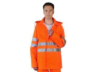 Ubranie ostrzegawcze LH-FLUER-J P rozm. XXXL pomarańczowy LEBER&HOLLMAN