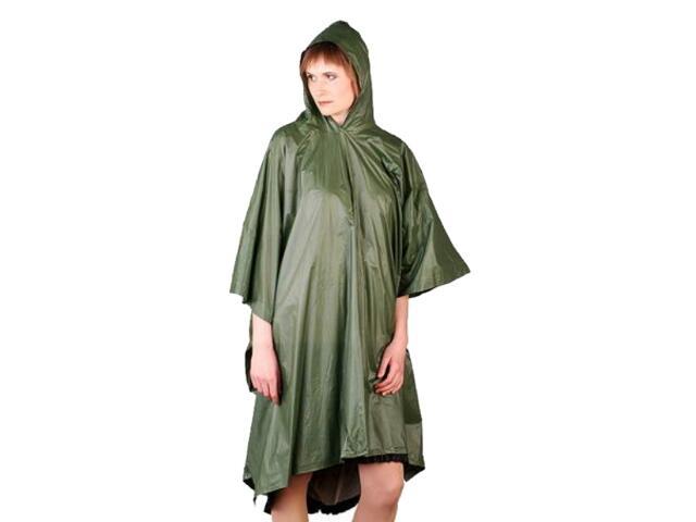 Ubranie przeciwdeszczowe PONCHO Z rozm. uniwersalny zielony REIS