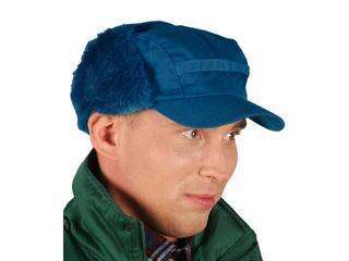 Czapka ochronna zimowa uszanka niebieska CZO rozm. 57-61 REIS