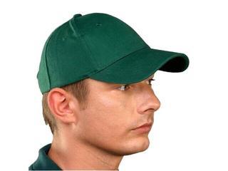 Czapka ochronna drelichowa z daszkiem zielona CZLUXZ rozm. 57-63 REIS