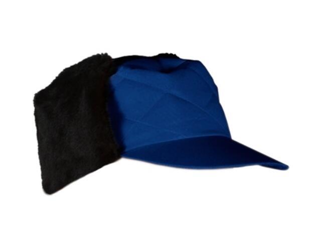 Czapka ochronna zimowa uszanka niebieska CZOLUX N rozm. 57-62 REIS
