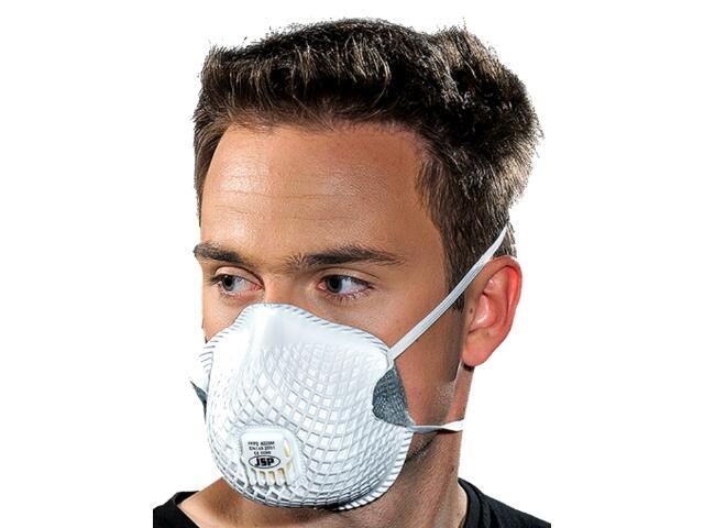 Maska higieniczna MAS-FNET-FFP2V W op. 10szt. REIS