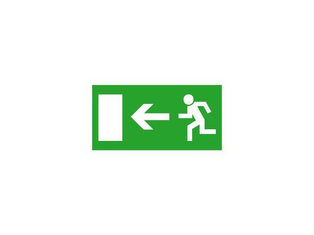 Znak ewakuacyjny EXIT PICTO-DOOR2 roz. 300x150 Kanlux