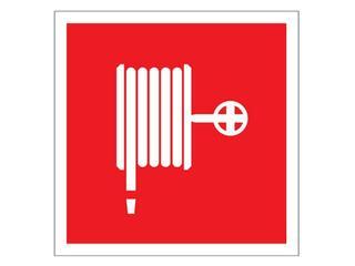 """Znak """"Hydrant wewnętrzny"""" Z-1P-FS rozm. 150x150 ANRO"""