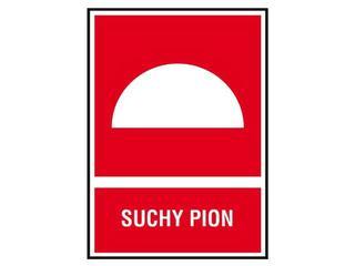 """Znak """"Suchy pion"""" Z-21P-FS rozm. 150x205 ANRO"""