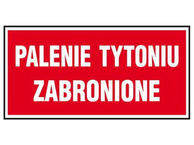 """Znak """"Palenie tytoniu zabronione"""" Z-48P-FS rozm. 200x400 ANRO"""