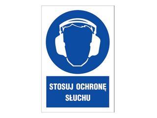 """Znak """"Stosuj ochronę słuchu"""" Z-4N1-FS rozm. 220x300 ANRO"""