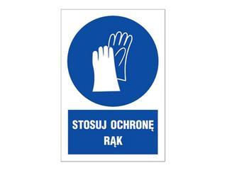 """Znak """"Stosuj ochronę rąk"""" Z-7N1-FS rozm. 220x300 ANRO"""