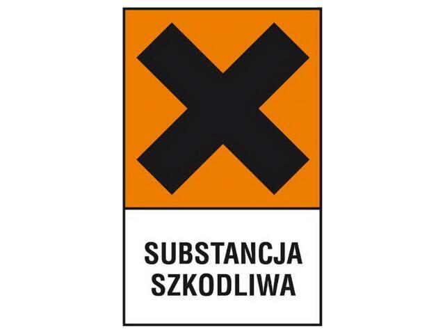 """Znak """"Substancja szkodliwa"""" Z-122CH-P rozm. 200x300 ANRO"""