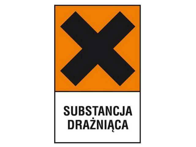 """Znak """"Substancja drażniąca"""" Z-124CH-P rozm. 200x300 ANRO"""