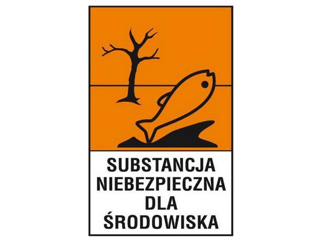 """Znak """"Substancja niebezpieczna dla środowiska"""" Z-125CH-F rozm. 200x300 ANRO"""