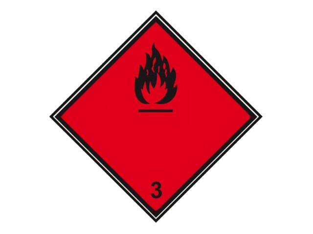 "Znak ""Materiał skłonny do wybuchu podklasy 1.6"" Z-T23-F rozm. 300x300 ANRO"
