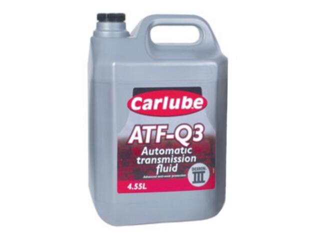 Olej hydrauliczny ATF-Q3 GM Dexron III 4,55l Carlube