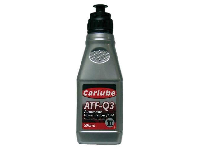 Olej hydrauliczny ATF-Q3 GM Dexron III 0,5l Carlube