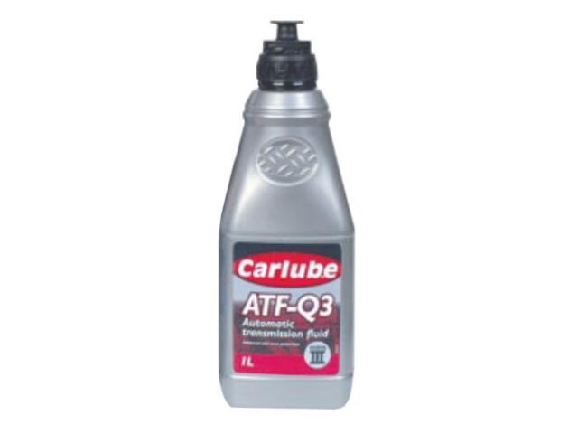 Olej hydrauliczny ATF-Q3 GM Dexron III 1l Carlube