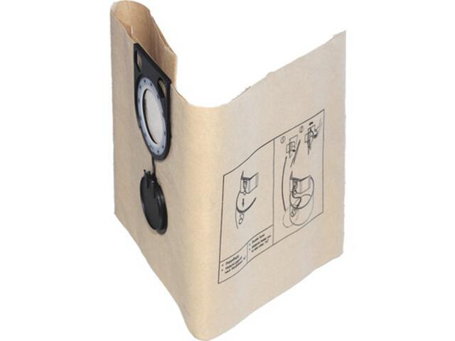 Worki papierowe FB 45/55 45-55l 5szt Starmix