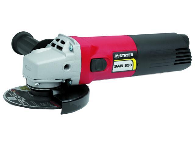 Szlifierka kątowa sieciowa 115mm 850W SAB850 Stayer