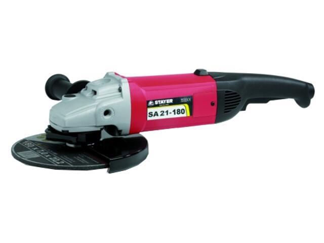 Szlifierka kątowa sieciowa 180mm 2100W SA21-180 Stayer