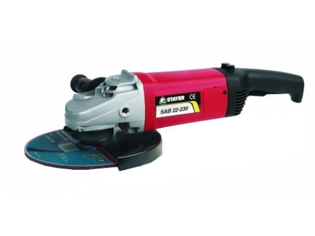 Szlifierka kątowa sieciowa 230mm 2200W SAB22-230 Stayer