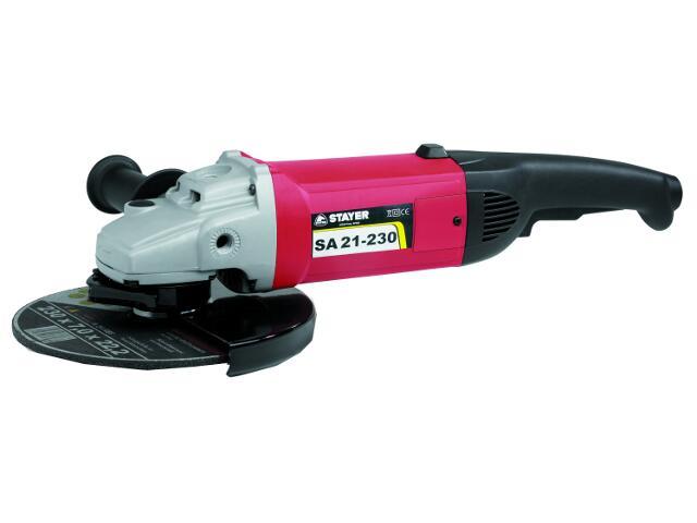 Szlifierka kątowa sieciowa 230mm 2100W SA21-230 Stayer