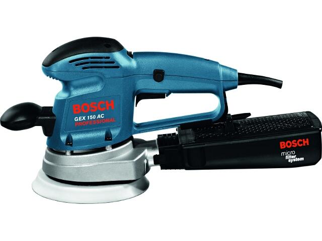 Szlifierka mimośrodowa sieciowa GEX 150 AC 340W 601372688 Bosch
