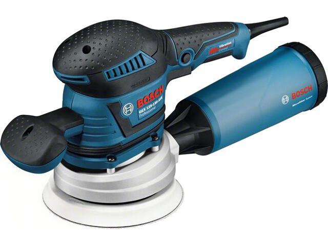 Szlifierka mimośrodowa sieciowa GEX 125-150 AVE 400W Bosch