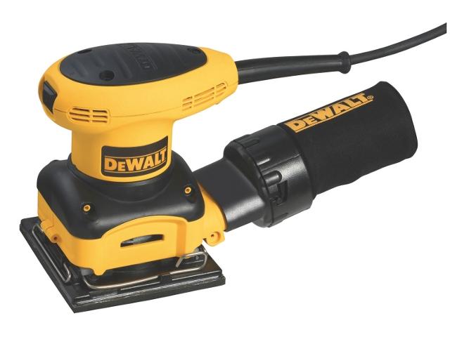 Szlifierka oscylacyjna sieciowa 230W 140x114mm D26441 DeWALT
