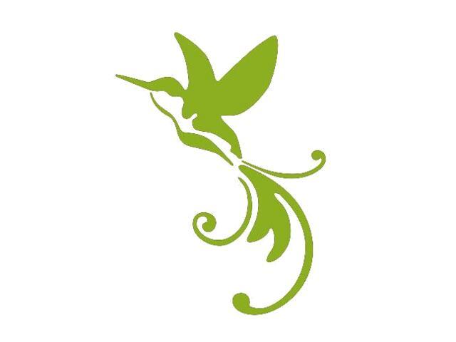 Naklejka dekoracyjna welurowa ptak 675002-5 Klimaty Domu