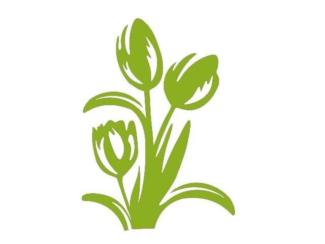 Naklejka dekoracyjna welurowa kwiaty 675008-5 Klimaty Domu