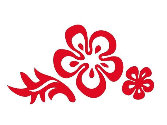 Naklejka dekoracyjna welurowa kwiaty 675025-6 Klimaty Domu