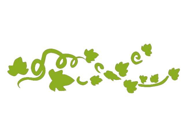 Naklejka dekoracyjna welurowa roślina 675032-5 Klimaty Domu