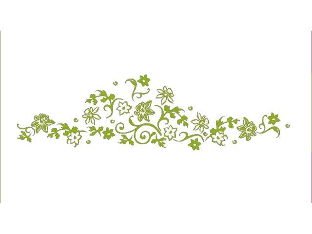 Naklejka dekoracyjna welurowa rośliny 675040-5 Klimaty Domu