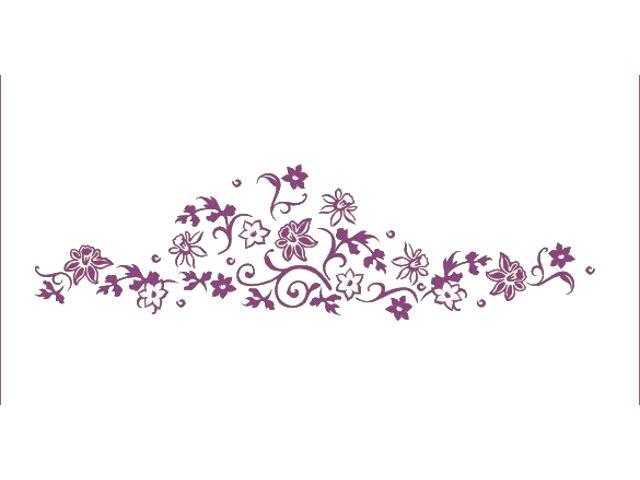 Naklejka dekoracyjna welurowa rośliny 675040-16 Klimaty Domu