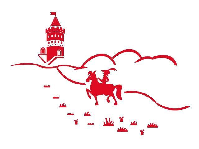 Naklejka dekoracyjna welurowa bajkowy zamek 673045-6 Klimaty Domu