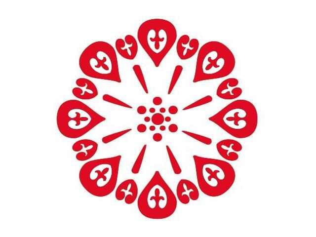 Naklejka dekoracyjna welurowa ornament 673010-6 Klimaty Domu