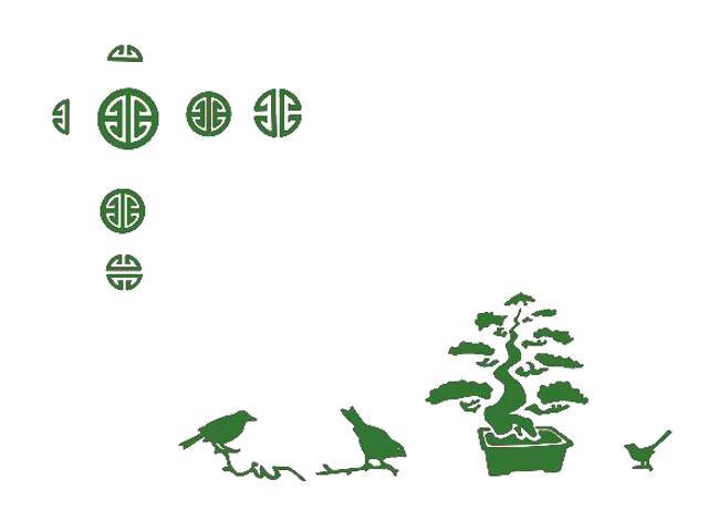 Naklejka dekoracyjna welurowa ptaki 673013-9 Klimaty Domu
