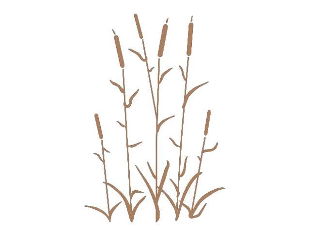 Naklejka dekoracyjna welurowa rośliny 673018-8 Klimaty Domu