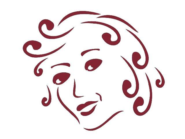 Naklejka dekoracyjna welurowa twarz 673030-11 Klimaty Domu