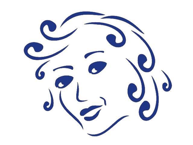 Naklejka dekoracyjna welurowa twarz 673030-13 Klimaty Domu